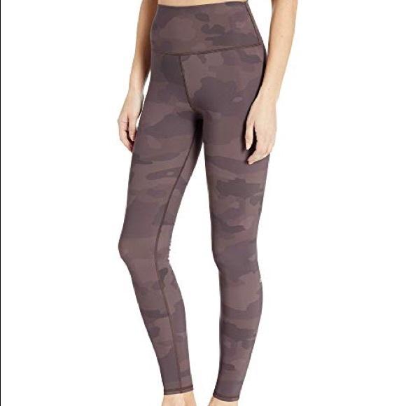 76f9dd74f6 ALO Yoga Pants | High Waisted Camo Vapor Legging Coco S | Poshmark